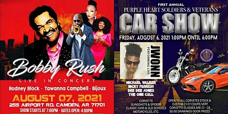 Celebrating Purple Heart Soldiers & Veterans with BOBBY RUSH, JWONN & More tickets