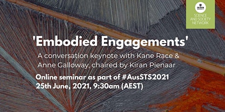 AusSTS Keynote Conversation with  Anne Galloway and Kane Race tickets