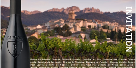 Dégustation Millésime 2020 AOC Côtes-du-Rhône-Villages Sablet billets