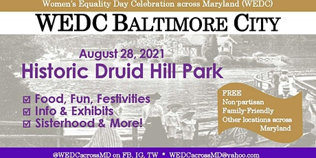 WEDinMD Baltimore City tickets