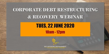 CORPORATE DEBT RESTRUCTURING & RECOVERY tickets