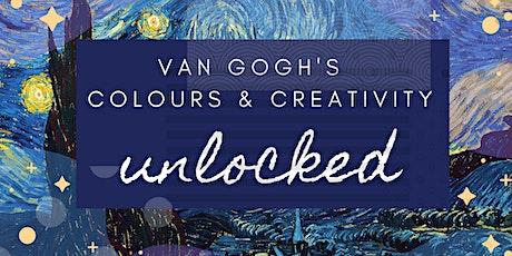 Van Gogh's Colours & Creativity Unlocked tickets