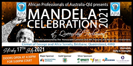 Mandela Day Celebration 2021(Brisbane, QLD) tickets