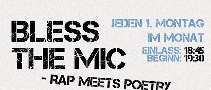 Bless the Mic - Rap meets Poetry -  Open Air: Bild