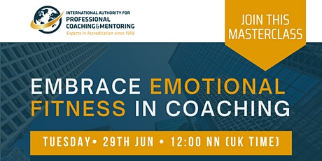 Embrace Emotional Fitness In Coaching with Bee Flanagan tickets
