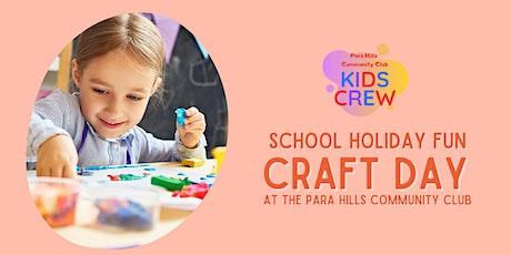 School Holiday Mini Craft Day tickets