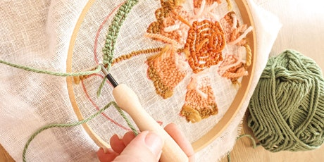 WORKSHOP   Punch Needle with Alice Nightingale tickets