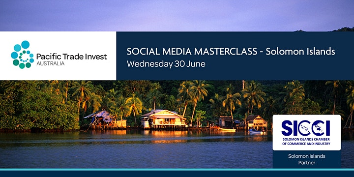 SOCIAL MEDIA MASTERCLASS – SOLOMON ISLANDS image