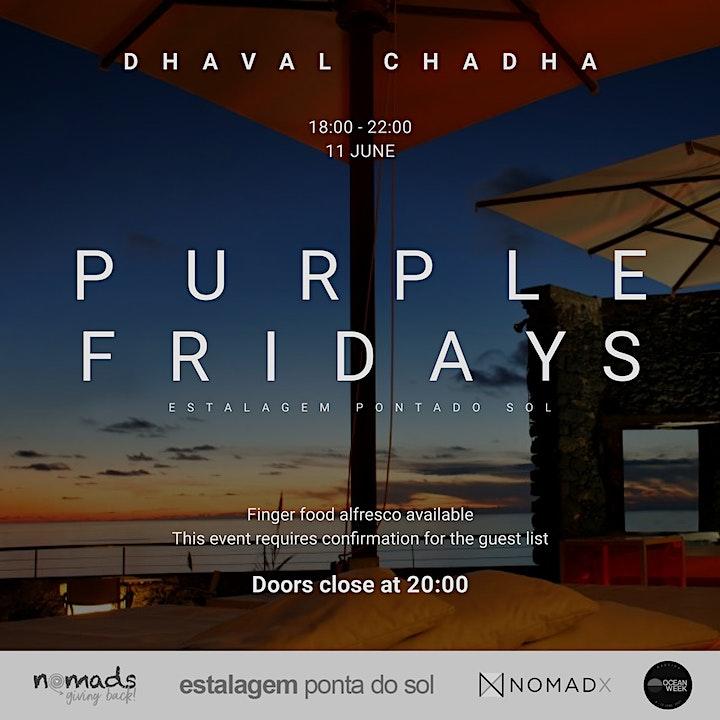 Ocean Week Sunset Social - Purple Fridays - CANCELED image