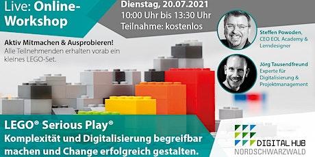 Komplexität & Digitalisierung begreifbar machen  mit Lego Serious Play Tickets