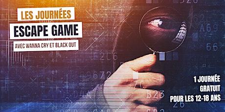 Les journées Escape Game  (pour les 12-18 ans) tickets