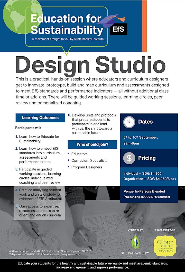 Education for Sustainability Design Studio image