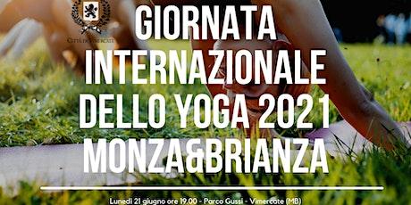 Giornata Internazionale dello yoga Monza & Brianza 2021 biglietti