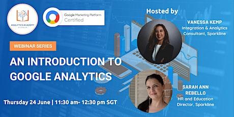 Introduction to Google Analytics billets