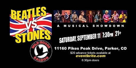 BEATLES VS THE STONES  (A Musical Showdown) tickets