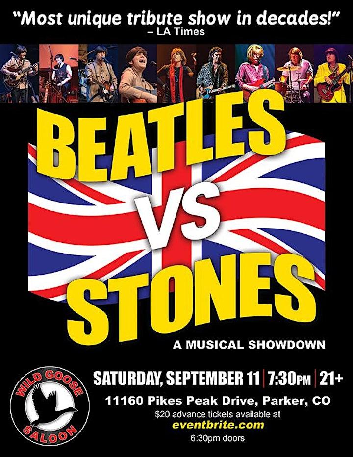 BEATLES VS THE STONES  (A Musical Showdown) image