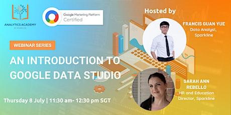 Introduction to Google Data Studio tickets