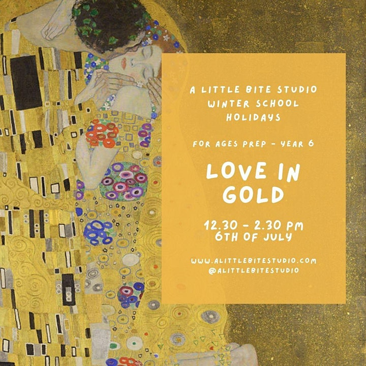 School Holiday Workshop - LOVE IN GOLD image