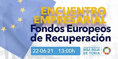 Encuentro empresarial sobre fondos europeos de resiliencia entradas