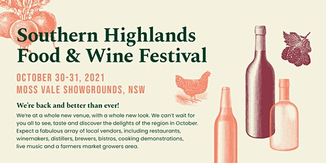 Southern Highlands Food & Wine Festival 2021 tickets