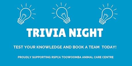 Toowoomba Trivia Night tickets