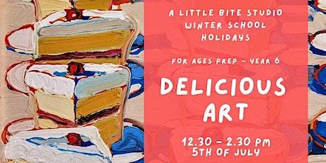 School Holiday Workshop - DELICIOUS ART tickets