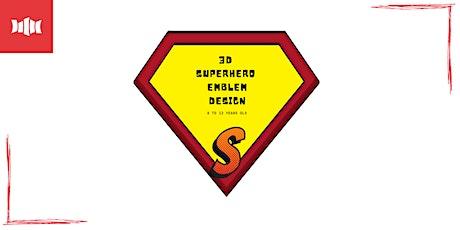 Holiday Activity - 3D Superhero Emblem Design - Nowra Library tickets
