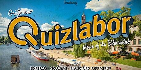 Quizlabor Brandenburg #5 - Open Air Kneipenquiz! Tickets