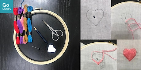 Upcycling with Embroidery | MakeIT tickets