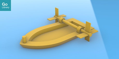 3D Design Prototyping - Elastic Powered Toy Boat | MakeIT tickets