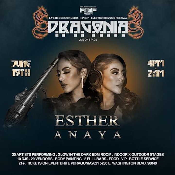 Esther Anaya Live at Dragonia 1st Annual MUSIC FESTIVAL image