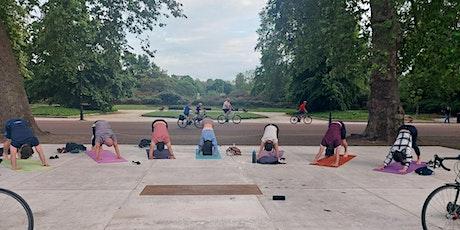 Outdoor yoga & Social @ Battersea Park 7.15pm (South London) tickets