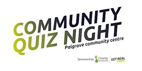 Community Quiz Night tickets