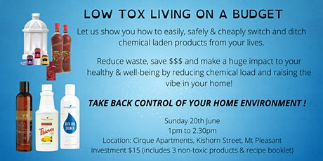 Low Tox Living on a Budget tickets
