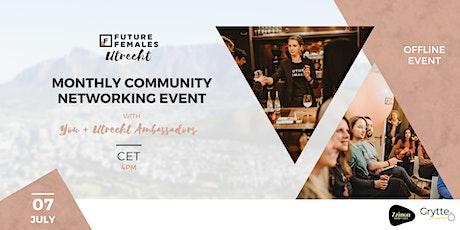 Future Females Utrecht | Monthly network event | Offline tickets