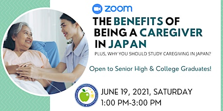 FREE WEBINAR: THE BENEFITS OF BEING A CAREGIVER IN JAPAN tickets