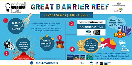 Great Barrier Reef National Science Week Celebration & Challenge  Launch tickets