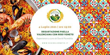 Degustazione paella valenciana con riso veneto | Experience biglietti