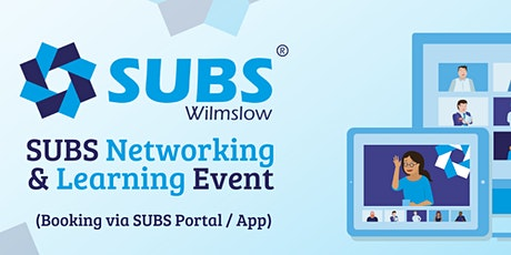 SUBS Wilmslow Networking & Learning tickets
