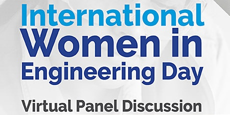 RBG International Women in Engineering Day 2021 - Virtual Panel Discussion tickets