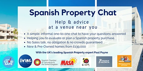 Manchester: Spanish Property Chat tickets