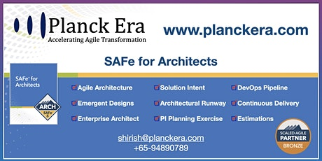 SAFe for Architects tickets