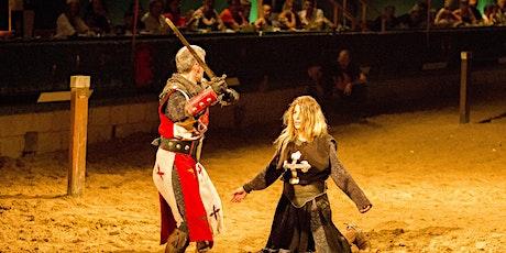 Desafío Medieval Cena-Espectáculo en Castillo Lionheart, Alfaz del Pi entradas