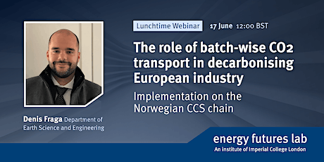 The role of batch-wise CO2 transport in decarbonising European industry tickets
