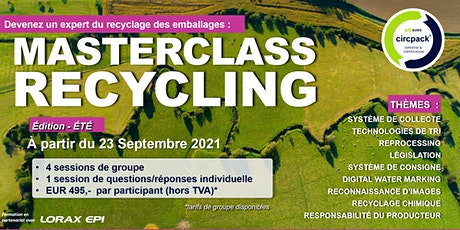Masterclass Recycling - Edition française billets