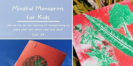Mindful Mono-print for Kids tickets