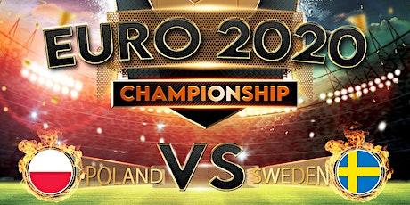 Poland vs Sweden LIVE @ The Polish Club   2AM on THURSDAY JUNE 24TH tickets