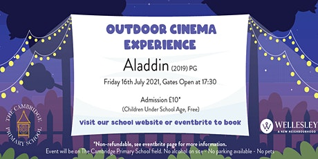 A Family Outdoor Cinema - Aladdin (2019) tickets