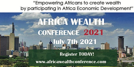 AFRICA WEALTH CONFERENCE 2021 tickets