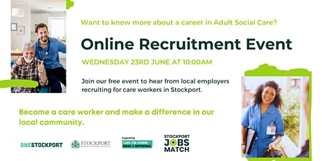 Become a Care Assistant | Meet the Employer Recruitment Event tickets